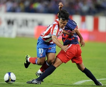 "Snajper Atletico Madryt - ""Kun"" Aguero /AFP"