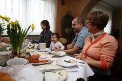 Śniadanie wielkanocne w polskim domu