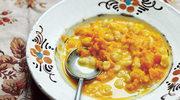 Śniadaniowa zupa dyniowa na słodko z zacierkami