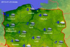 Śnieg, mróz, gołoledź. Sprawdź prognozę pogody [MAPY]