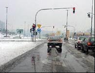 Śnieg na ulicach Lublina /RMF