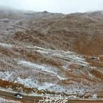 Śnieg spadł w górach na północy Arabii Saudyjskiej