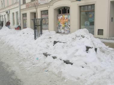 Śniegu w Olsztynie jeszcze dziś nie było, ale lada dzień, kto wie... /RMF