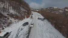 Śnieżyca sparaliżowała ulice Władywostoku