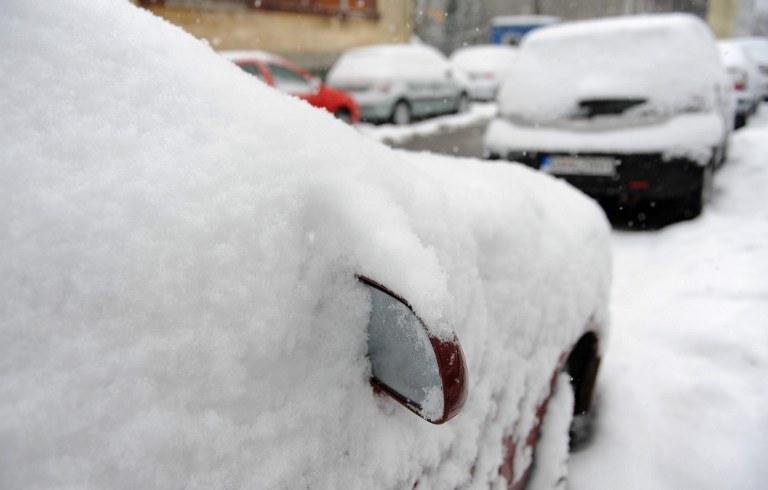 Śnieżyce skomplikowały w piątek na Słowacji także sytuację na drogach, zdj. ilustracyjne /AFP