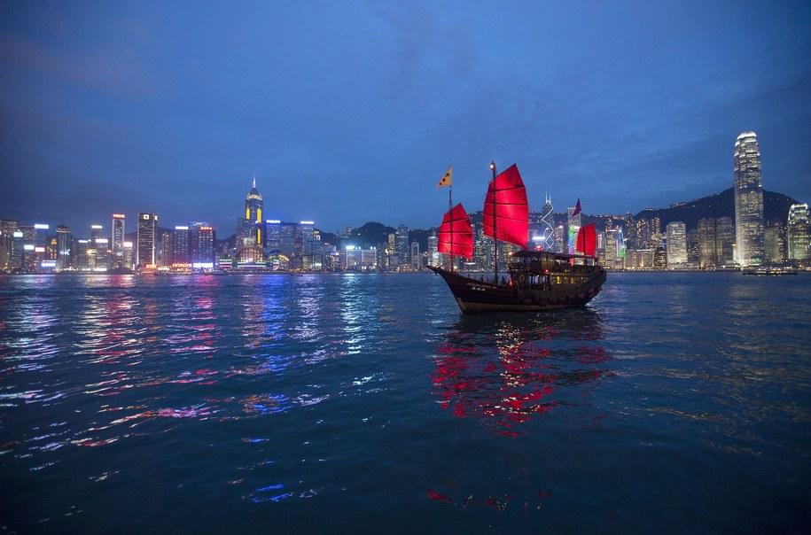 Snowden ostatni raz był widziany w Hongkongu /ALEX HOFFORD /PAP/EPA