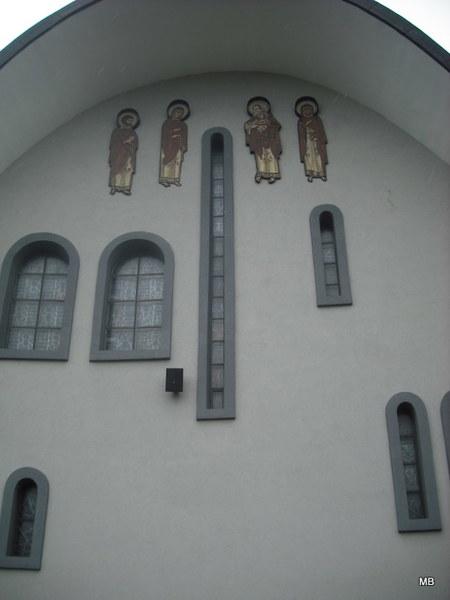 Boczna ściana Soboru