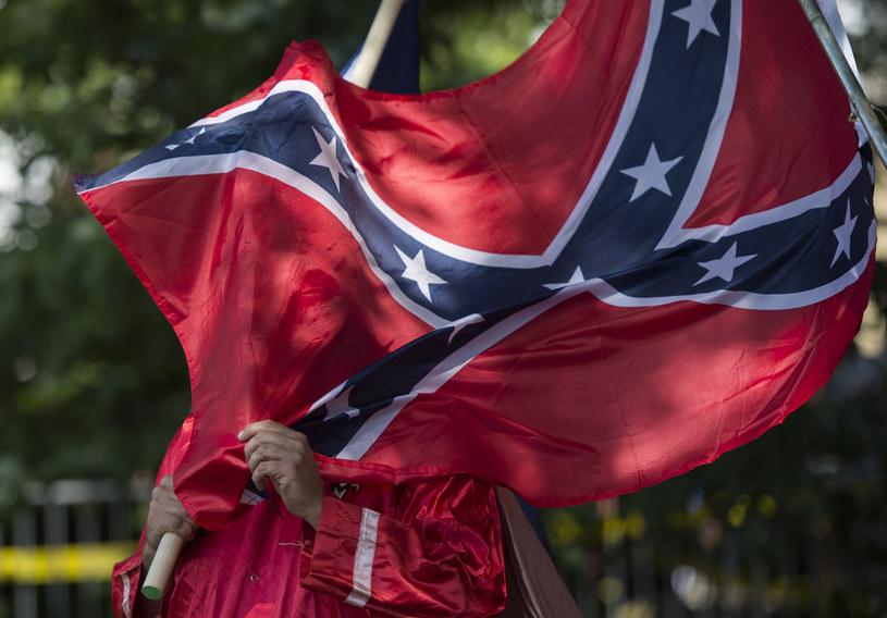 Sobotni wiec białych nacjonalistów w Charlottesville /ANDREW CABALLERO-REYNOLDS /AFP