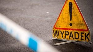 Sochaczew: Wypadek ciężarówki z kwasem