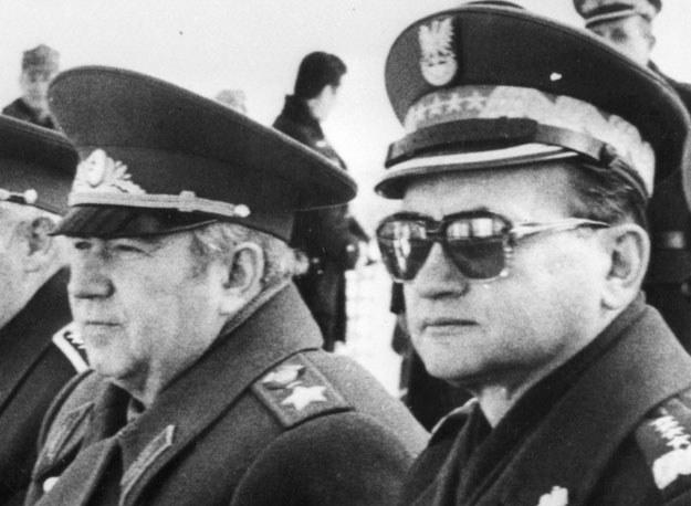 Sojusznicy dowódcy: Wiktor Kulikow i Wojciech Jaruzelski /Getty Images