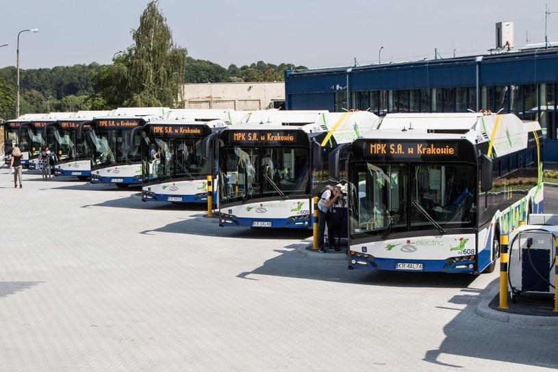Solaris to stały dostawca autobusów dla Krakowa. Również elektrycznych /Jan Graczyński /East News