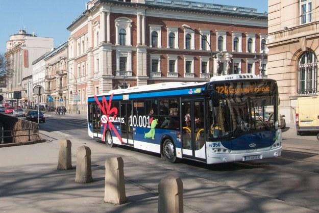 Solaris z normą Euro 6 na ulicach Krakowa /