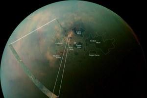 Sonda Cassini sfotografowała północny biegun Tytana