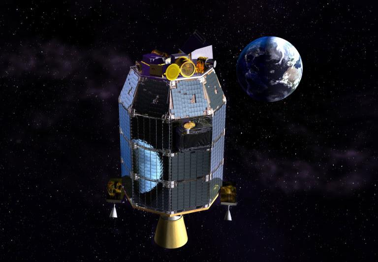 Sonda LADEE pomoże zbudować nowy system komunikacji kosmicznej. /materiały prasowe