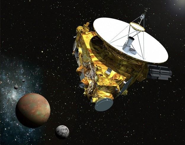 Sonda New Horizons zmierza w stronę Plutona - wizualizacja NASA. /NASA