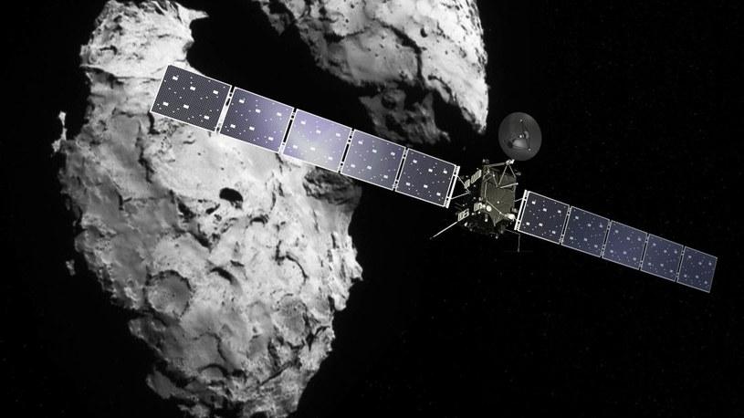 Sonda Rosetta rozbije się o powierzchnię komety 67P /materiały prasowe