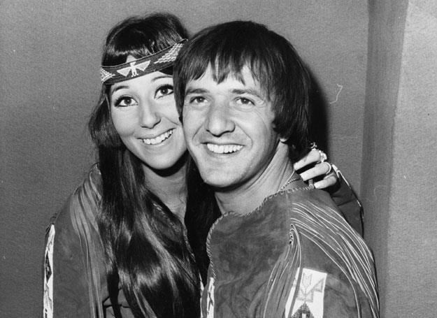 Sonny Bono z Cher - fot. Keystone /Getty Images