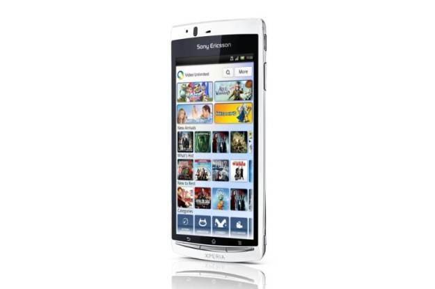 Sony Ericsson  Xperia arc S /materiały prasowe