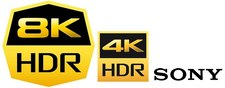 Sony prezentuje logo 8K HDR