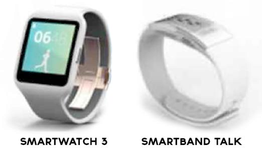 Sony SmartWatch 3 i SmartBand Talk /materiały prasowe