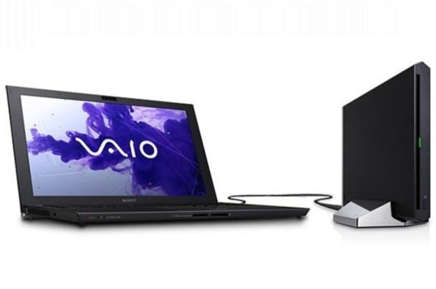 Sony Vaio Z21 z zewnętrzną stacją dokującą /materiały prasowe