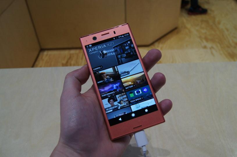 Sony Xperia XZ1 Compact /INTERIA.PL