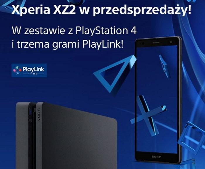 Sony Xperia XZ2 w przedsprzedaży w PS4 /materiały prasowe