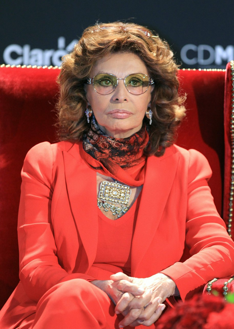 Sophia Loren /MARIO GUZMAN    /PAP/EPA