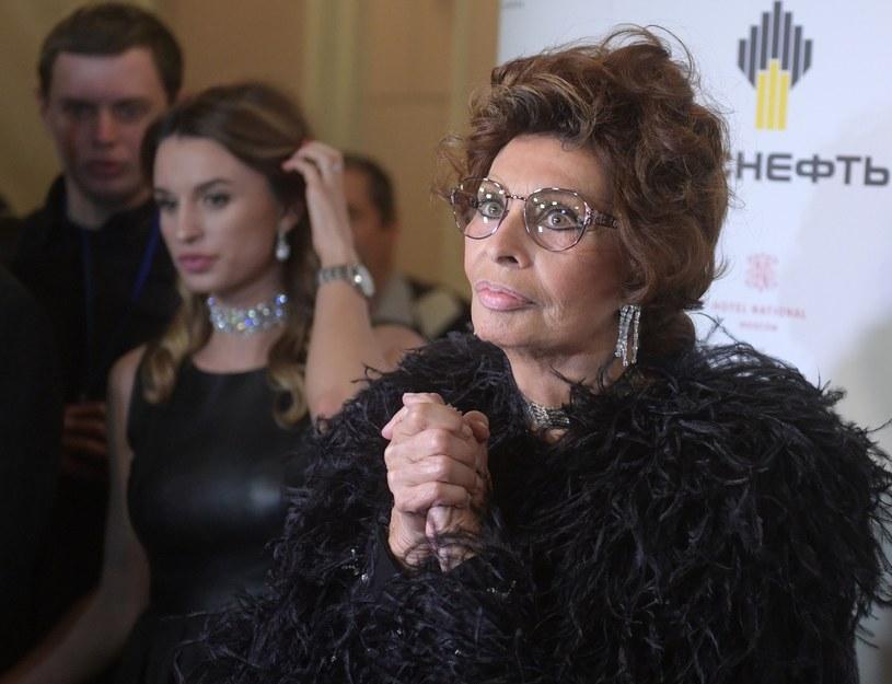 Sophia Loren /INTERIA.PL