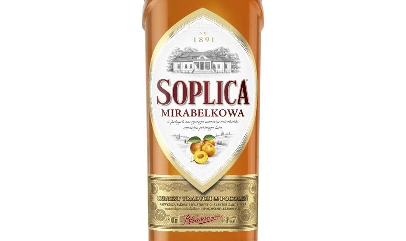 Soplica to lider na rynku wódek smakowych w Polsce /materiały prasowe