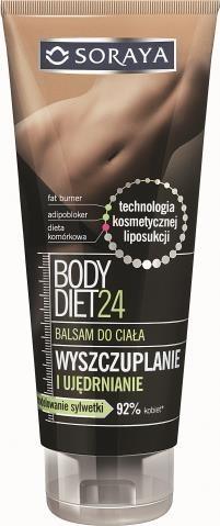 Soraya, Body Diet 24, ujędrnianie, 200 ml/ 14,90 zł. /Mat. Prasowe