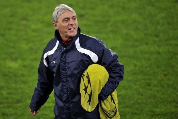Sorin Cartu w meczu z Bazyleą nie miał takiej wesołej miny! /AFP