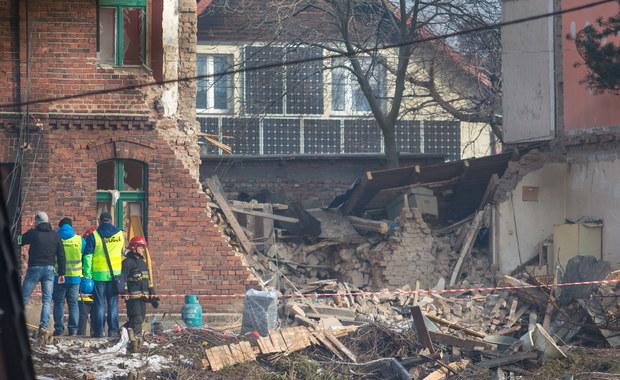 Sosnowiec znalazł firmę, która wyburzy, to, co zostało po zawalonej kamienicy
