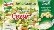 Sosy sałatkowe z grzankami
