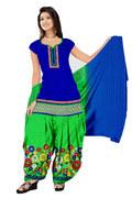 Source : http://www.mirraw.com/designers/crazyvilla-enterprise/designs/blue-embroidered-cotton-unstitched-salwar-with-dupatta-dress-material--274