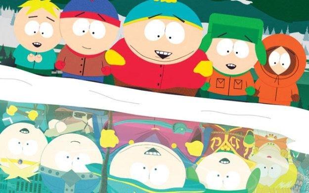 South Park - motyw graficzny /Informacja prasowa