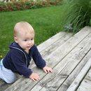 Spacer w wnukiem