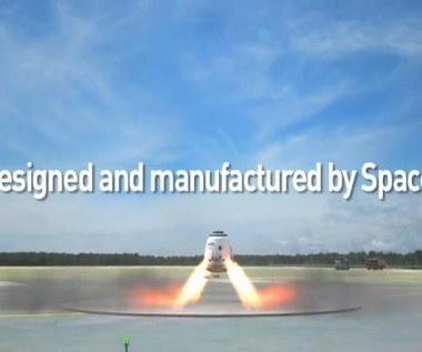 SpaceX testuje silniki rakietowe SuperDraco