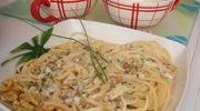 Spaghetti à la gorgonzola