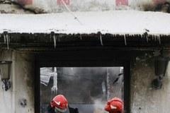 Spalony magazyn meblowy w Rembertowie