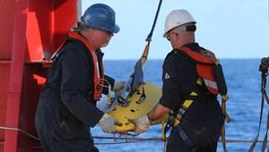 Specjalistyczny statek pomaga w poszukiwaniach boeinga