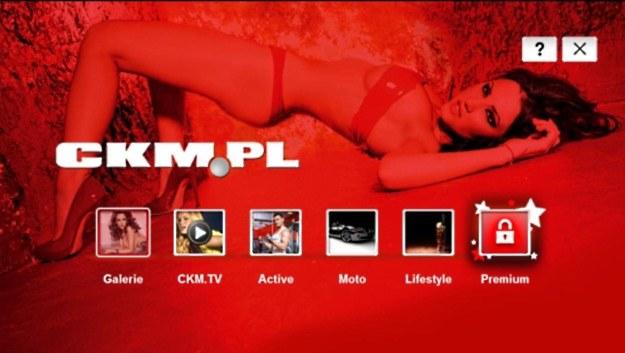 """Specjalna aplikacja 3D powstała we współpracy z magazynem """"CKM"""" z myślą o telewizorach LG. Regularnie trwają rozmowy mające na celu poszerzenie liczby dostępnych aplikacji w Polsce - m.in. o TVN Player /materiały prasowe"""