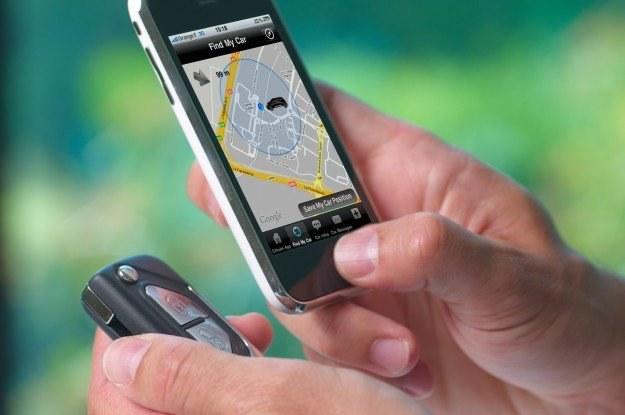 Specjalna aplikacja odnajdzie samochód /