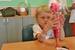 Specjalne lalki dla chorych dzieci