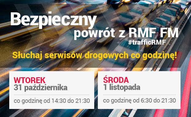 Specjalne wydania serwisów drogowych w RMF FM. Na RMF24.pl relacja minuta po minucie! /RMF FM