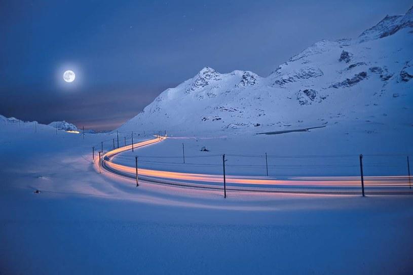 Specjalny kurs Bernina Express - w pełnię Księżyca /materiały prasowe