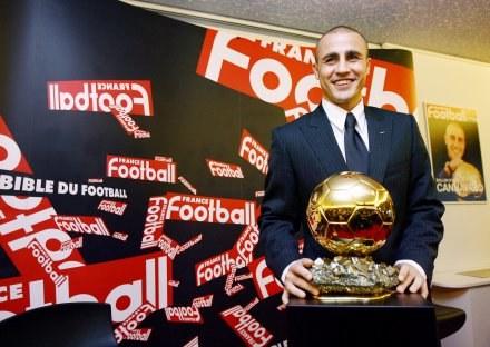 Spełnił się sen Cannavaro /AFP