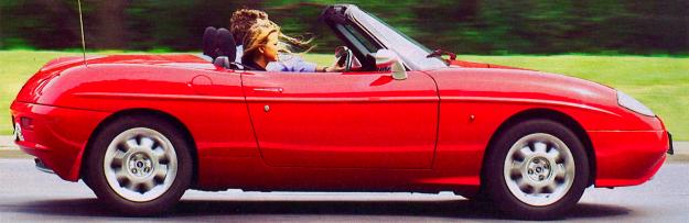Spider czy roadster – nie spierajmy się o nazwę. Barchetta jest ładna! /Motor