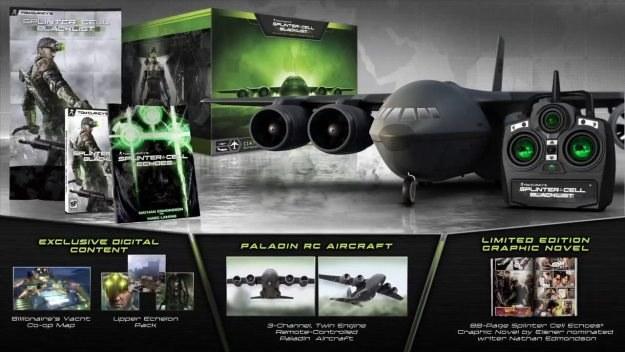 Splinter Cell: Blacklist - edycja kolekcjonerska /materiały prasowe