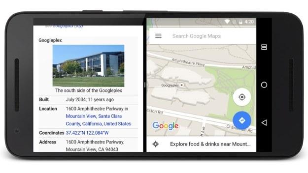 Split-screen w Androidzie N /materiały prasowe